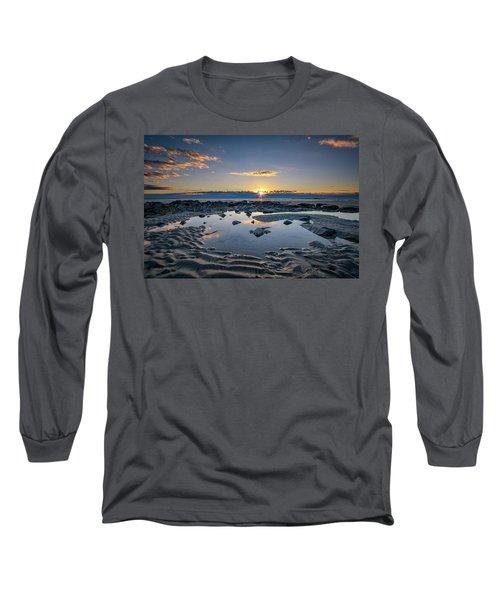 Long Sleeve T-Shirt featuring the photograph Sunrise Over Wells Beach by Rick Berk