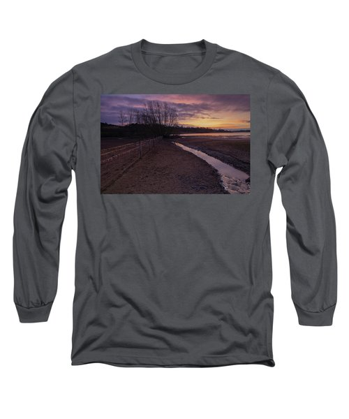Sunrise, Rutland Water Long Sleeve T-Shirt