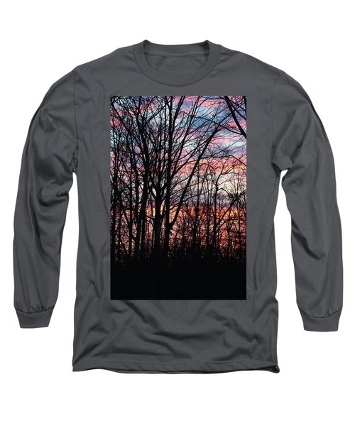 Sunrise Silhouette And Light Long Sleeve T-Shirt