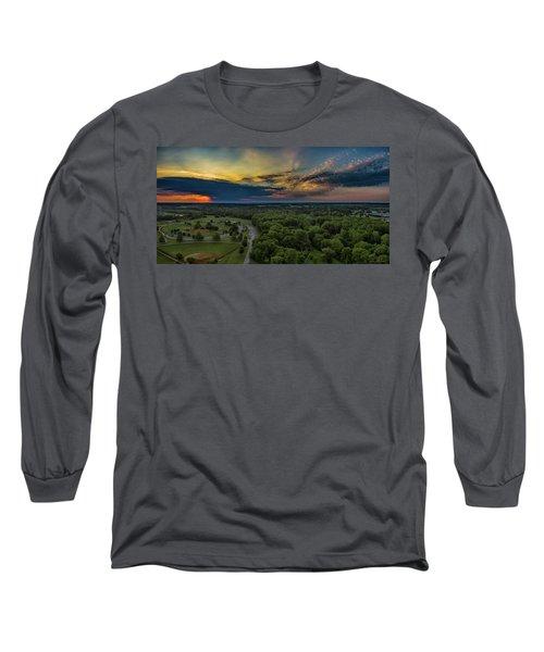 Sunrise Thru The Clouds Long Sleeve T-Shirt