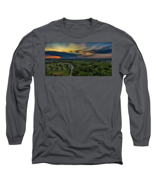 Sunrise Thru The Clouds Long Sleeve T-Shirt
