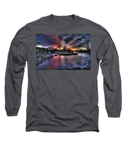 Sunrise Trestle #1 Long Sleeve T-Shirt