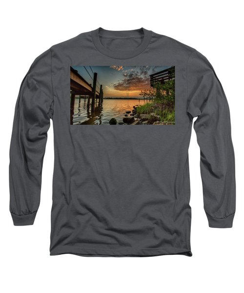 Sunrise Under The Dock Long Sleeve T-Shirt