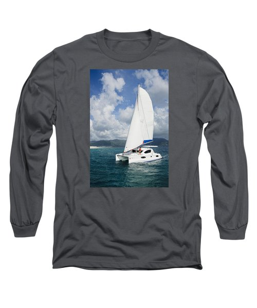 Sunsail Catamaran Long Sleeve T-Shirt
