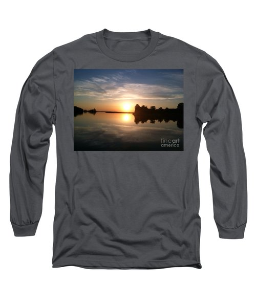 Sunset @ Rend Lake Long Sleeve T-Shirt