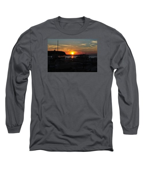 Harbor In Ephraim Long Sleeve T-Shirt