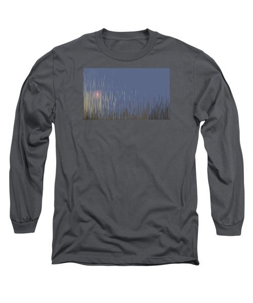 Sunset Across The Lake Long Sleeve T-Shirt