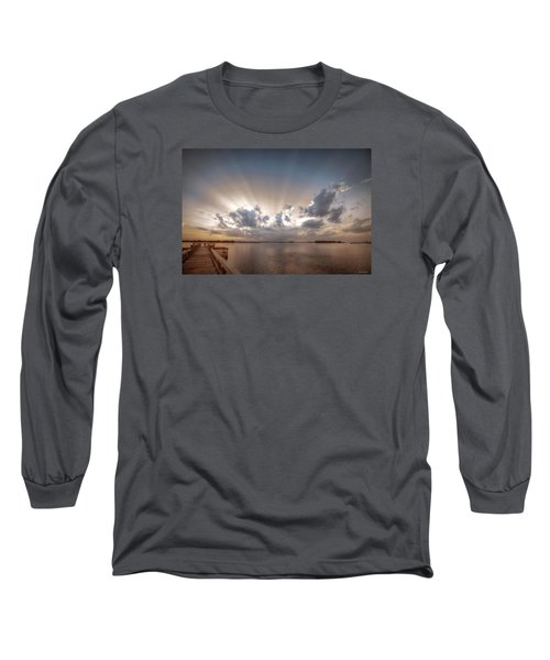 Sunset Aftermath Long Sleeve T-Shirt by Phil Mancuso