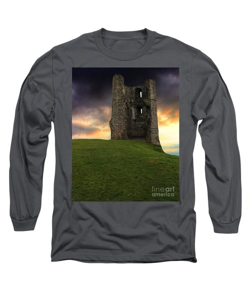 Sunset At Hadleigh Castle Long Sleeve T-Shirt