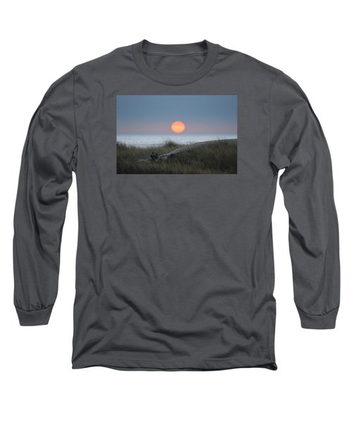 Sunset At Halfmoon Bay Long Sleeve T-Shirt