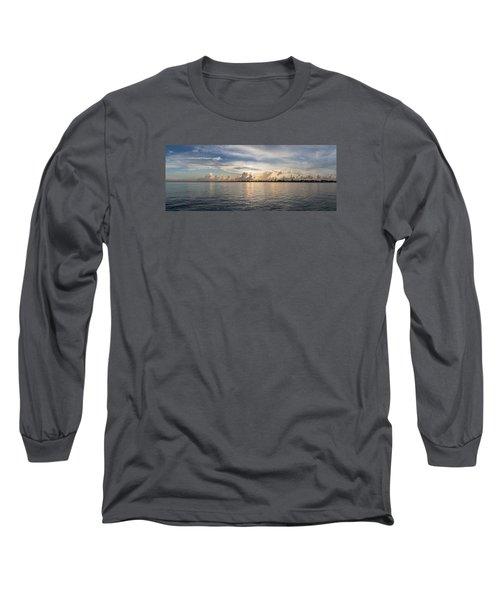 Sunset At Key Largo Long Sleeve T-Shirt