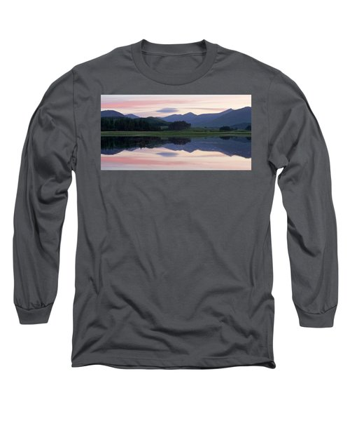 Sunset At Loch Tulla Long Sleeve T-Shirt by Stephen Taylor