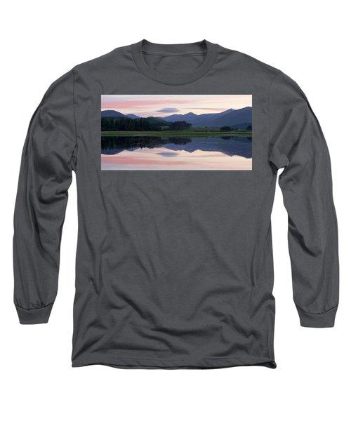 Sunset At Loch Tulla Long Sleeve T-Shirt