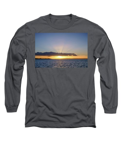 Sunset At Lough Derg Long Sleeve T-Shirt