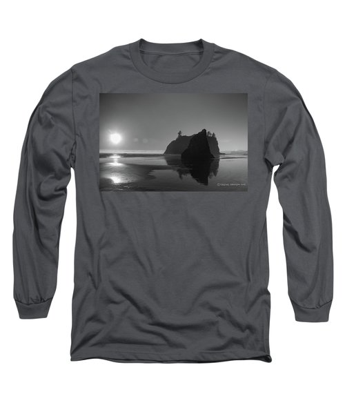 Sunset At Ruby Beach #2 Long Sleeve T-Shirt