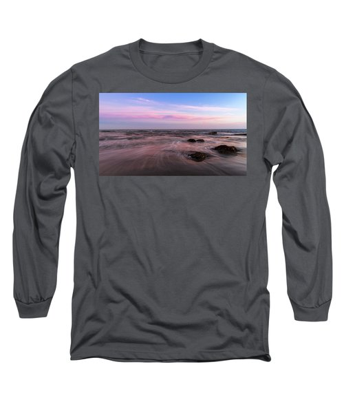 Sunset At The Atlantic Long Sleeve T-Shirt by Andreas Levi