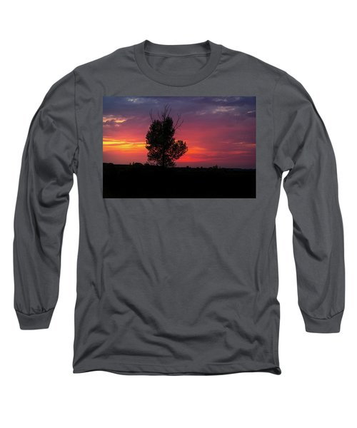 Sunset At The Danube Banks Long Sleeve T-Shirt