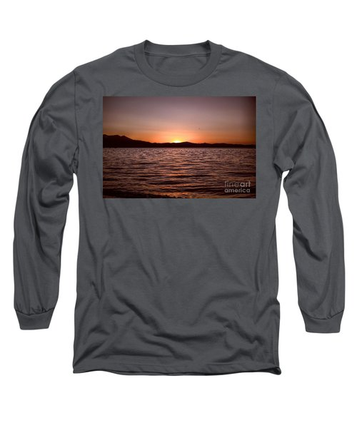 Sunset At The Lake 2 Long Sleeve T-Shirt