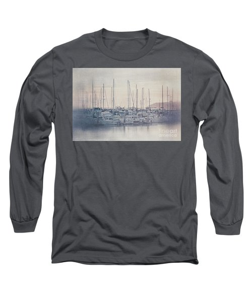 Sunset At The Marina Long Sleeve T-Shirt