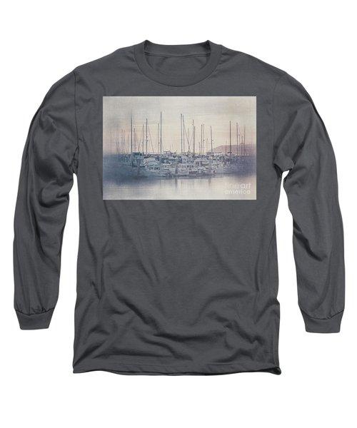 Sunset At The Marina Long Sleeve T-Shirt