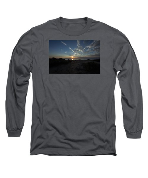 Long Sleeve T-Shirt featuring the photograph Sunset At Torrey Pines by Jeremy McKay