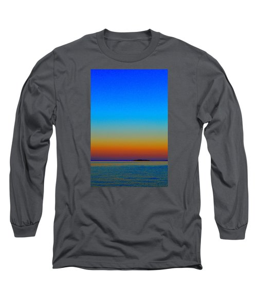 Long Sleeve T-Shirt featuring the photograph Sunset Blend South East 3  by Lyle Crump