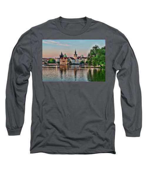 Sunset Cruise Prague Long Sleeve T-Shirt