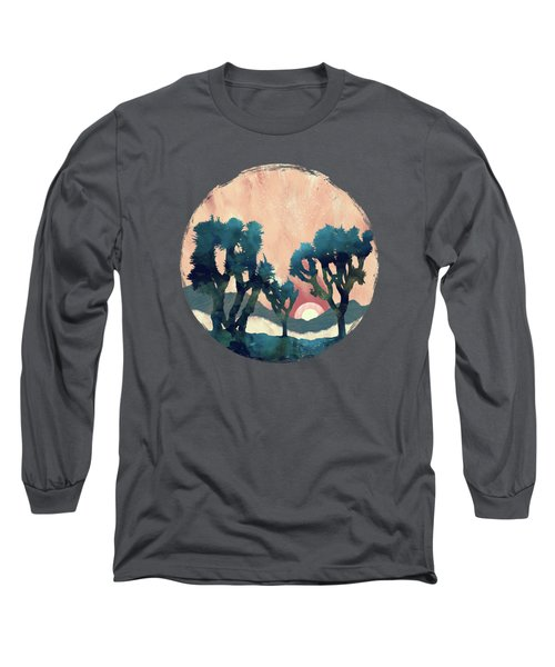 Sunset Desert Canyon Long Sleeve T-Shirt