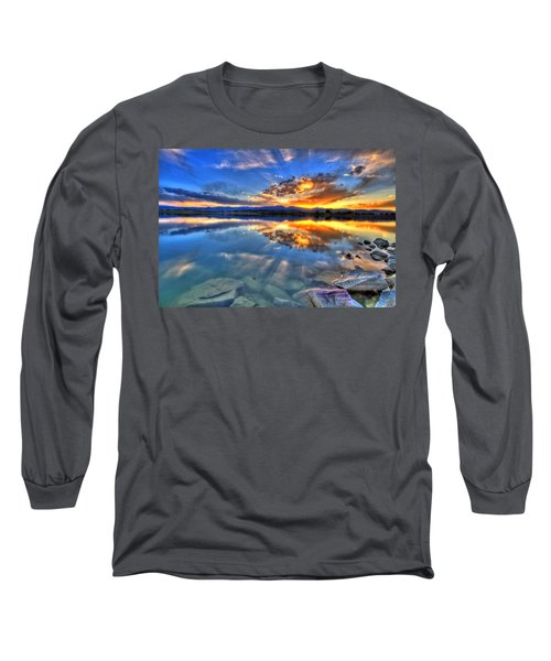 Sunset Explosion Long Sleeve T-Shirt