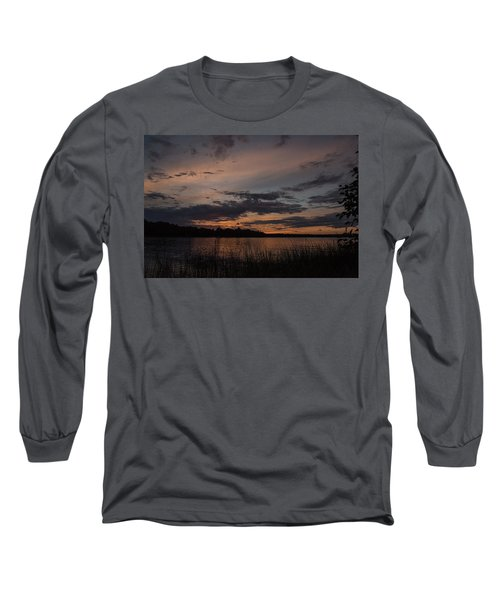 Sunset From Afternoon Beach Long Sleeve T-Shirt