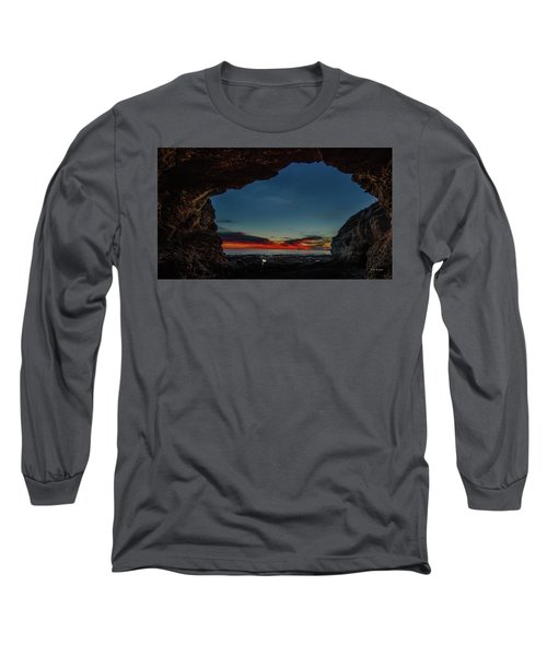 Sunset From Brady's Cave Long Sleeve T-Shirt