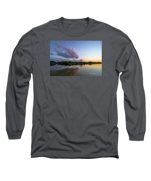 Long Sleeve T-Shirt featuring the photograph Sunset Glow by Don Durfee