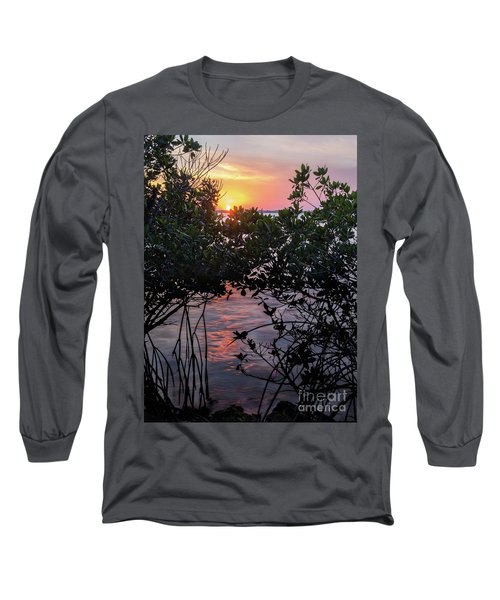 Sunset, Hutchinson Island, Florida  -29188-29191 Long Sleeve T-Shirt