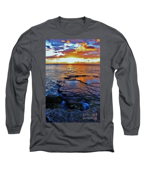 Sunset In A Tide Pool II Long Sleeve T-Shirt