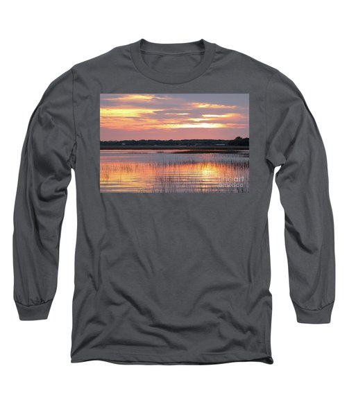Sunset In South Carolina Long Sleeve T-Shirt