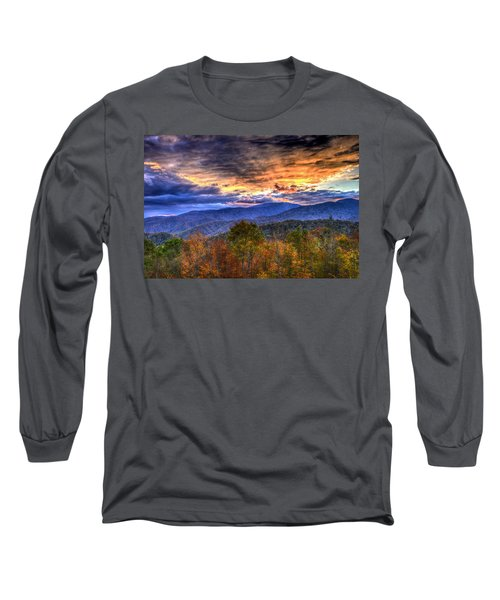 Sunset In The Smokies Long Sleeve T-Shirt