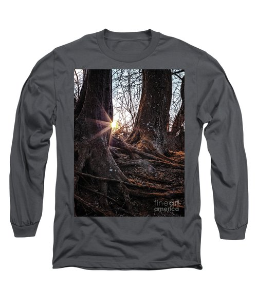 Sunset In The Woods Long Sleeve T-Shirt