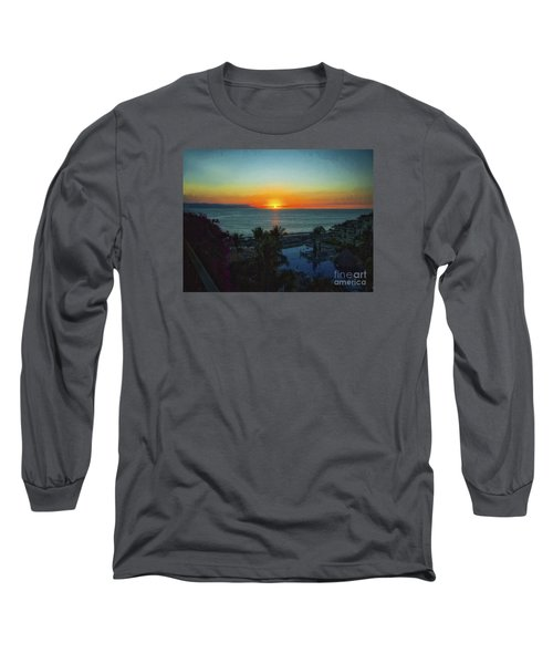 Sunset In Vallarta  ... Long Sleeve T-Shirt