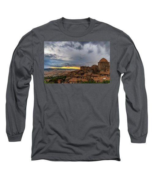 Sunset In Volterra Long Sleeve T-Shirt