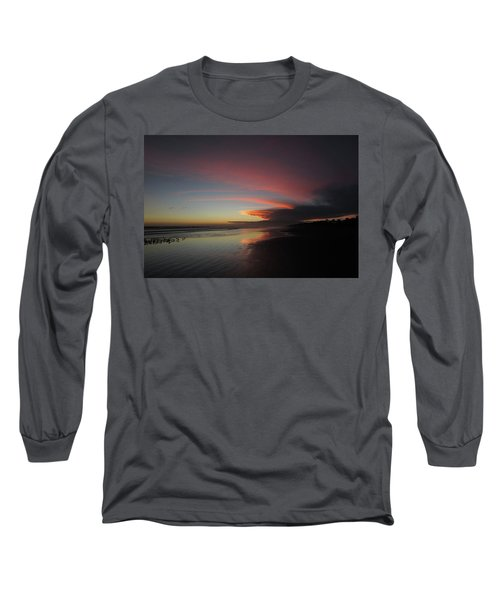 Sunset Las Lajas Long Sleeve T-Shirt by Daniel Reed