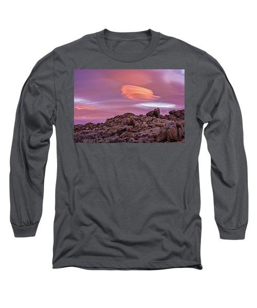 Sunset Lenticular Long Sleeve T-Shirt