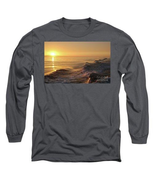 Sunset Meets Wake Long Sleeve T-Shirt