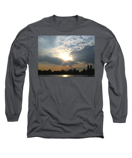 Sunset New York  Long Sleeve T-Shirt