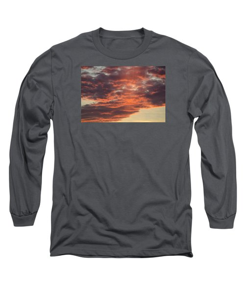 Sunset On Hunton Lane #10 Long Sleeve T-Shirt by Carlee Ojeda