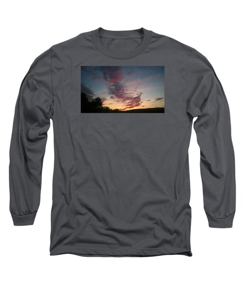 Long Sleeve T-Shirt featuring the photograph Sunset On Hunton Lane #11 by Carlee Ojeda