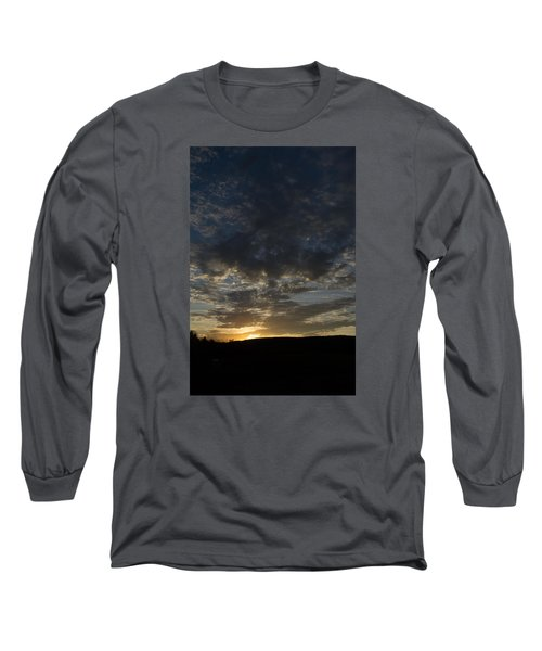 Sunset On Hunton Lane #2 Long Sleeve T-Shirt by Carlee Ojeda