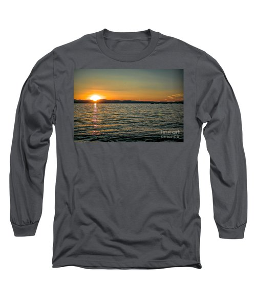 Sunset On Left Long Sleeve T-Shirt