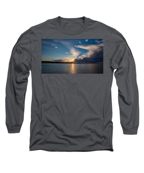 Sunset On The Baltic Sea Long Sleeve T-Shirt