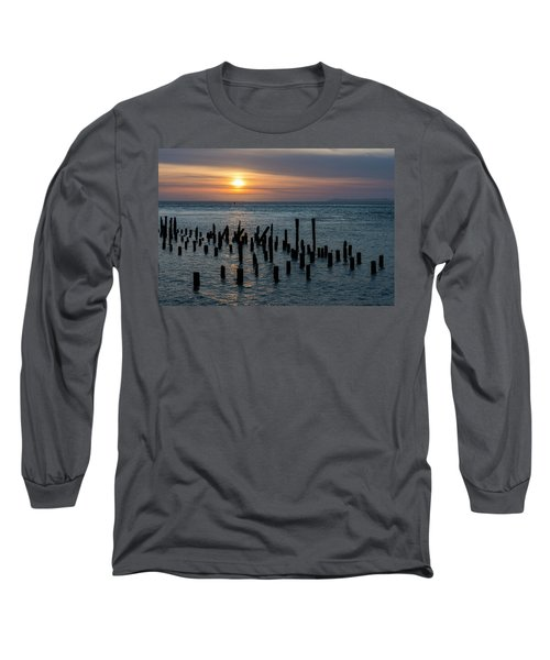 Sunset On The Empire Long Sleeve T-Shirt
