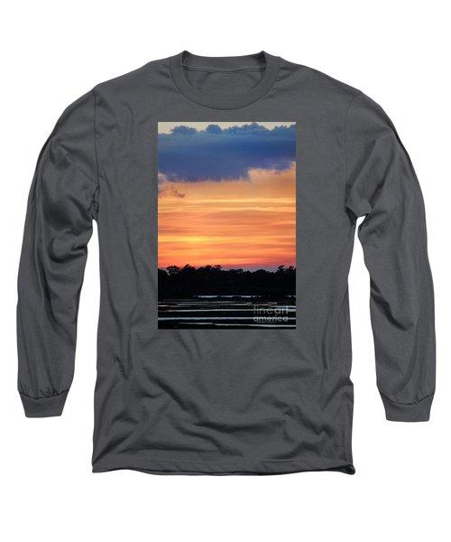 Sunset On The Marsh Long Sleeve T-Shirt